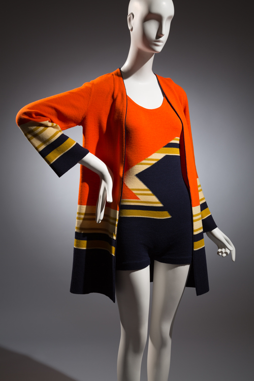 Munchen, Swim suit, Wool, circa 1930, Germany, The Museum at FIT, Museum Purchase.